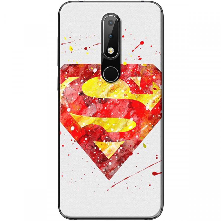Ốp lưng dành cho điện thoại Nokia 6.1 Plus Mẫu Siêu nhân