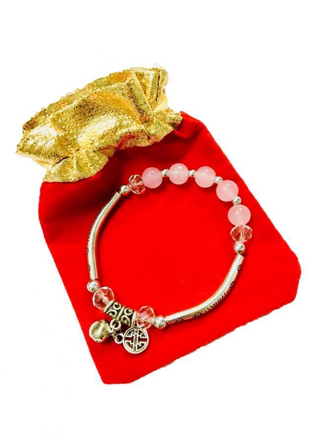 Lắc tay nữ kiểu kết hợp hạt châu phủ màu hồng với gắn charm họa tiết chữ thọ may mắn LT06 (cỡ hạt 8li, có... - 1021758 , 9094131521368 , 62_2914951 , 70000 , Lac-tay-nu-kieu-ket-hop-hat-chau-phu-mau-hong-voi-gan-charm-hoa-tiet-chu-tho-may-man-LT06-co-hat-8li-co...-62_2914951 , tiki.vn , Lắc tay nữ kiểu kết hợp hạt châu phủ màu hồng với gắn charm họa tiết chữ