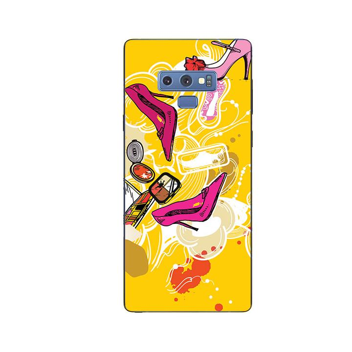 Ốp Lưng Dẻo Cho Điện thoại Samsung Galaxy Note 9 - Art