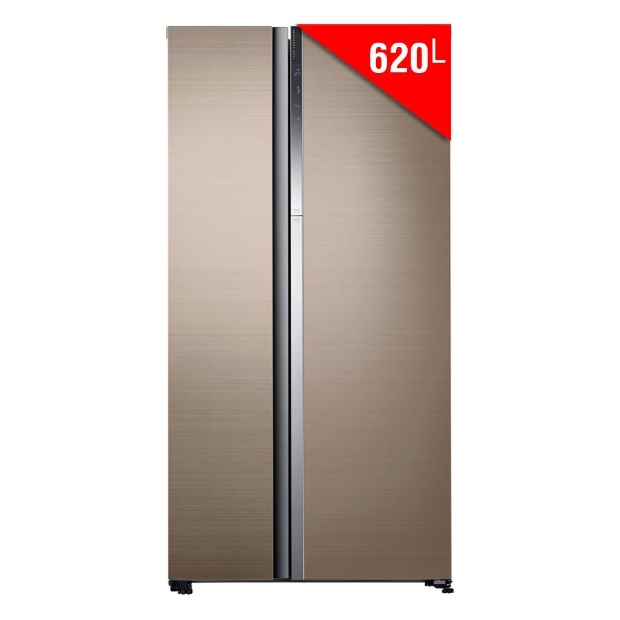 Tủ Lạnh Side By Side Inverter Samsung RH62K62377P (620L)