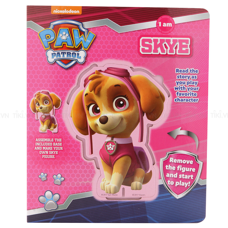 Nickelodeon Paw Patrol: I Am Skye - Chú chó cứu hộ - 1123632 , 8103469045338 , 62_4266541 , 202000 , Nickelodeon-Paw-Patrol-I-Am-Skye-Chu-cho-cuu-ho-62_4266541 , tiki.vn , Nickelodeon Paw Patrol: I Am Skye - Chú chó cứu hộ