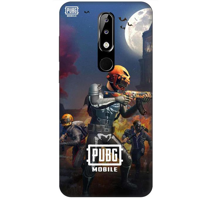 Ốp lưng dành cho điện thoại NOKIA 5.1 Plus hình PUBG Mẫu 12