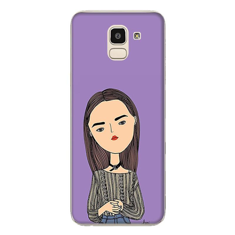 Ốp Lưng Dành Cho Samsung Galaxy J6 - Mẫu 91