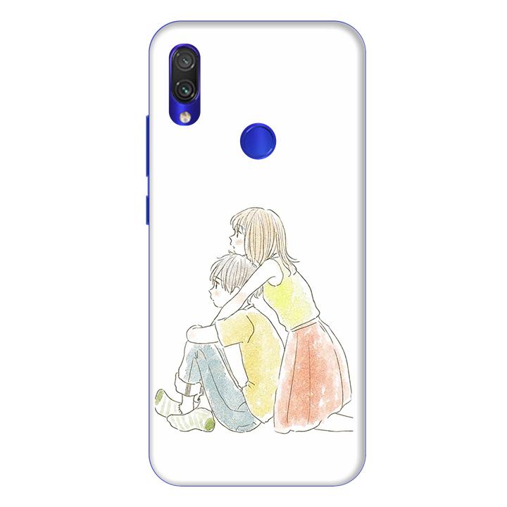 Ốp lưng dành cho điện thoại Xiaomi Redmi Note 7 hình KRIXI Xanh - Hàng chính hãng