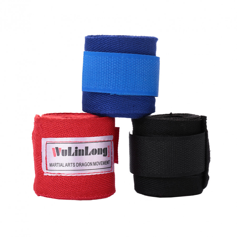 2.5m Training Inner Hand Fist Wrapes Boxing Fighting Gloves Bandages Cotton