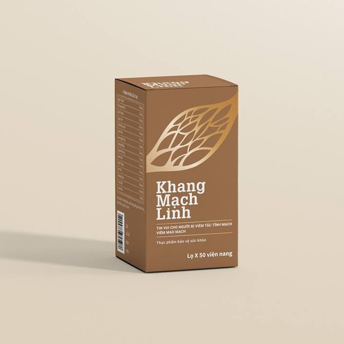 Khang Mạch Linh- Hỗ trợ điều trị các bệnh viêm tắc tĩnh mạch, viêm mao mạch dị ứng