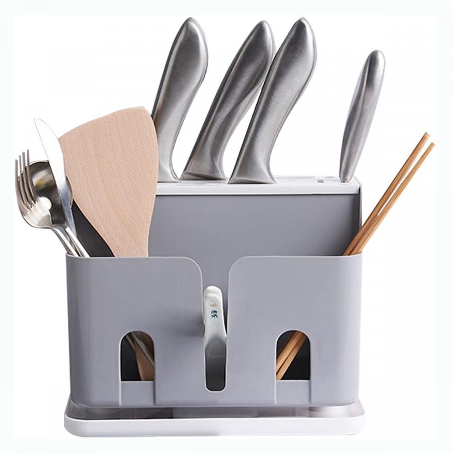 Dụng cụ dắt dao, thìa, chất liệu nhựa cao cấp - Giao màu ngẫu nhiên