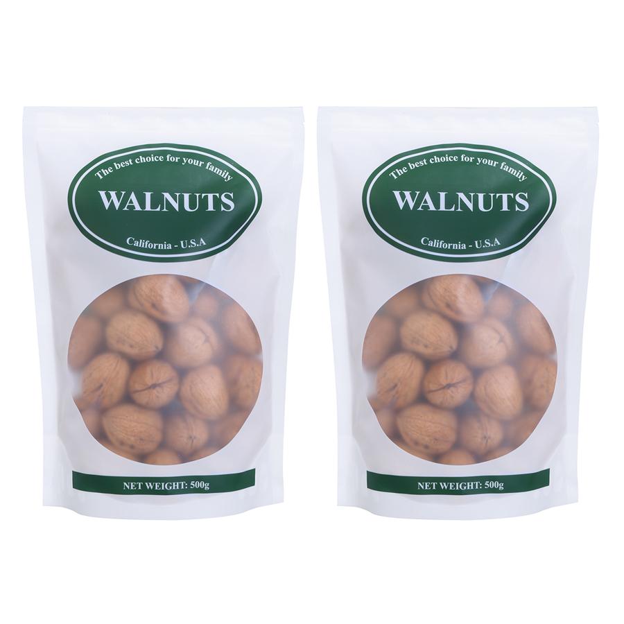Combo 2 Gói Quả Óc Chó Mỹ California Walnuts (500g / Gói) - 1993943 , 8915339918297 , 62_987029 , 320000 , Combo-2-Goi-Qua-Oc-Cho-My-California-Walnuts-500g--Goi-62_987029 , tiki.vn , Combo 2 Gói Quả Óc Chó Mỹ California Walnuts (500g / Gói)