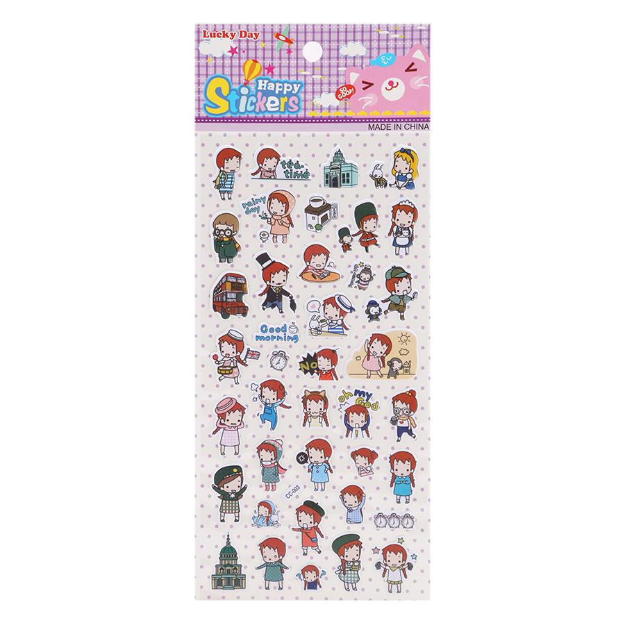 Sticker Dán Nổi Cho Bé - CC003