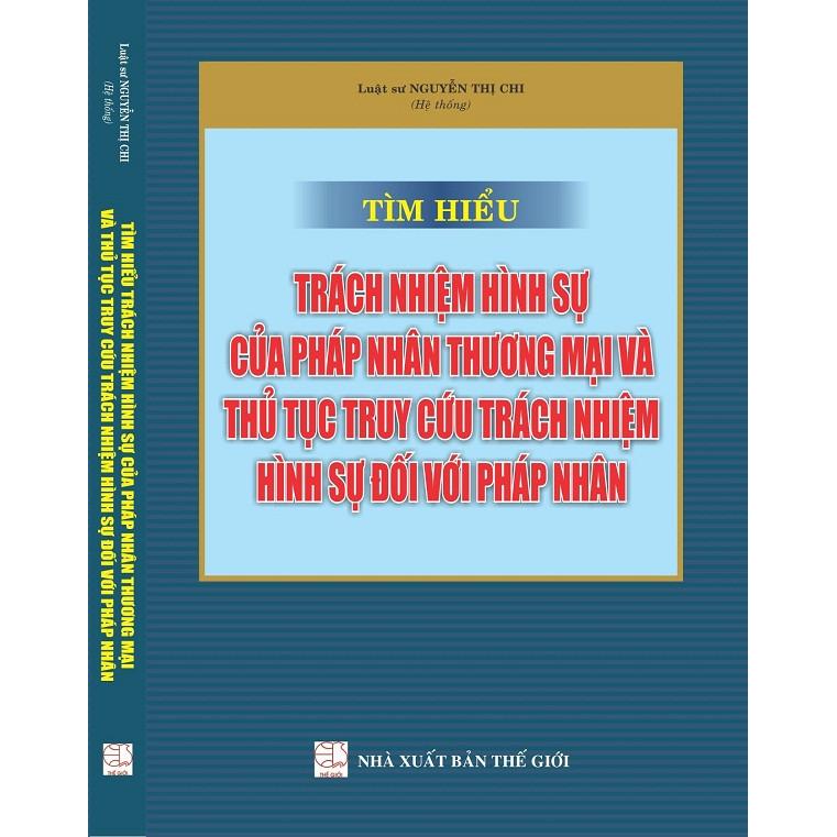 Tìm hiểu trách nhiệm hình sự của pháp nhân thương mại và thủ tục truy cứu trách nhiệm hình sự đối với pháp... - 1275762 , 5185210518356 , 62_12030727 , 370000 , Tim-hieu-trach-nhiem-hinh-su-cua-phap-nhan-thuong-mai-va-thu-tuc-truy-cuu-trach-nhiem-hinh-su-doi-voi-phap...-62_12030727 , tiki.vn , Tìm hiểu trách nhiệm hình sự của pháp nhân thương mại và thủ tục tr