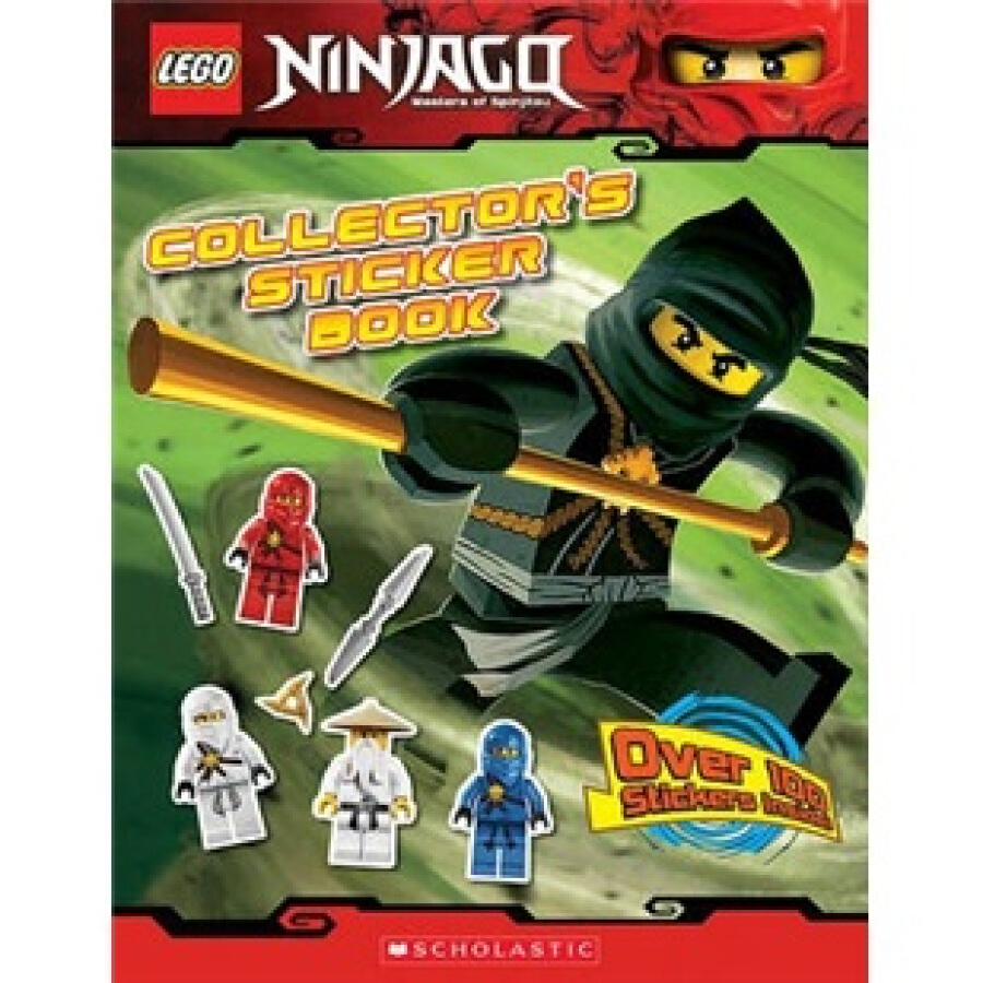 LEGO NINJAGO: COLLECTORS STICKER BOOK