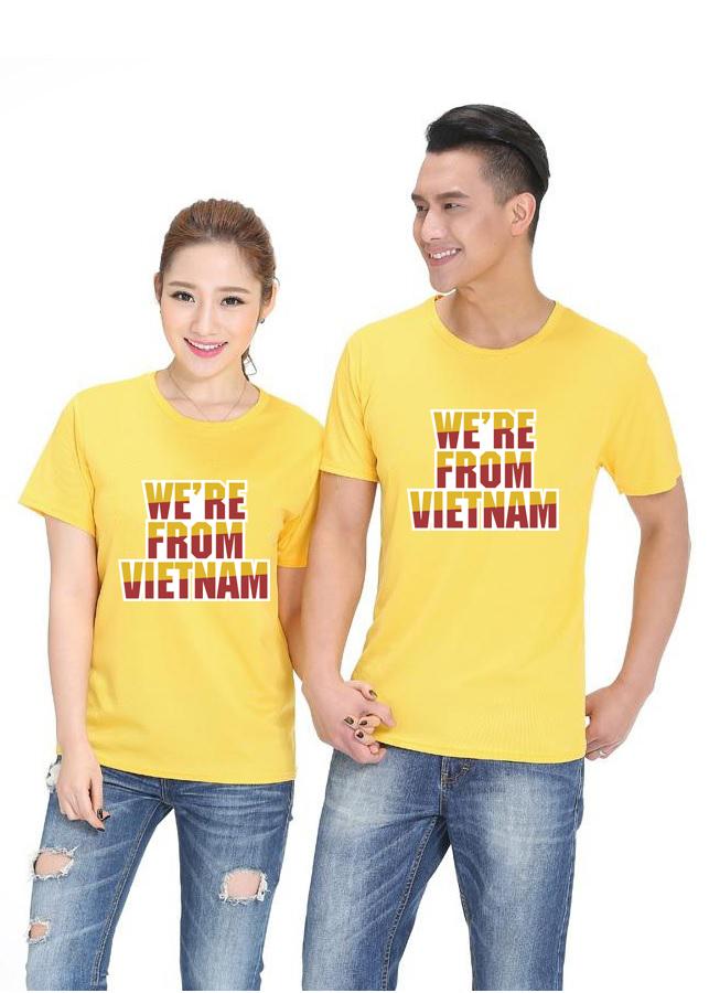Bộ Áo Thun Đôi Nam Nữ  Màu Vàng A566 - 2242711 , 4872076498519 , 62_14392615 , 265000 , Bo-Ao-Thun-Doi-Nam-Nu-Mau-Vang-A566-62_14392615 , tiki.vn , Bộ Áo Thun Đôi Nam Nữ  Màu Vàng A566