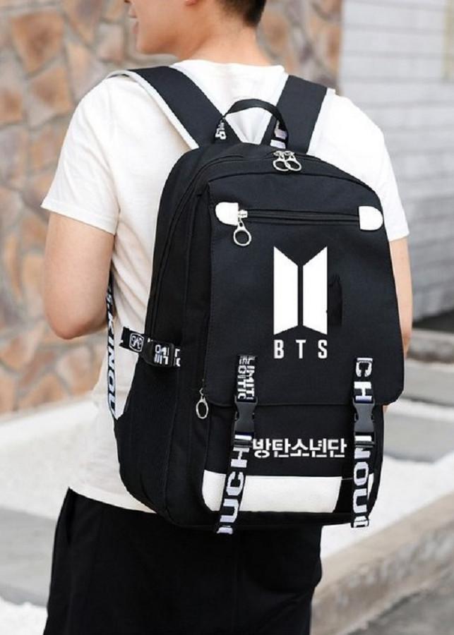 Balo vải BTS idol đi học