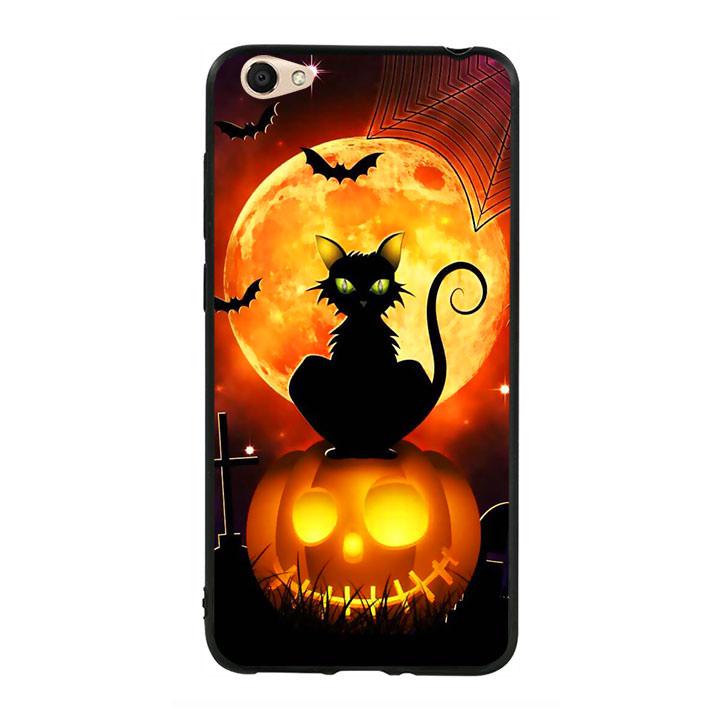 Ốp lưng Halloween viền TPU cho điện thoại Vivo Y55 - Mẫu 05