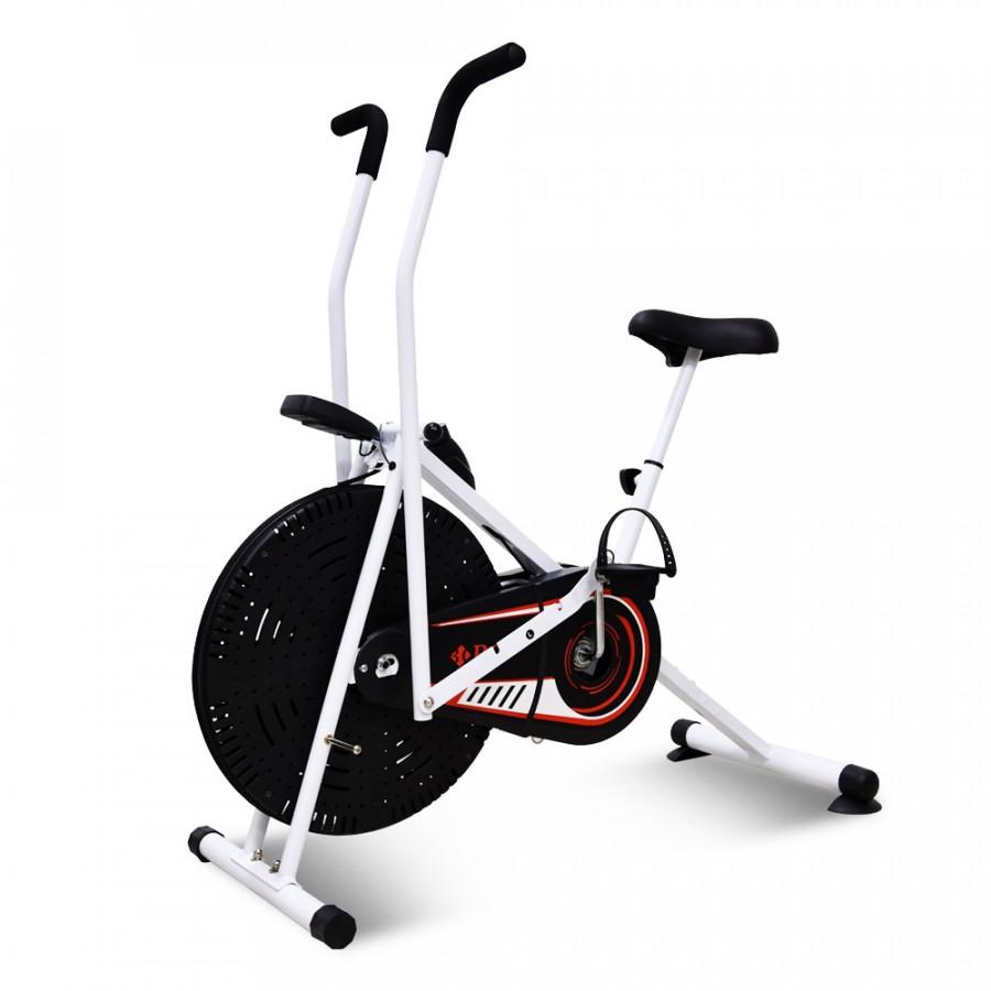 Xe đạp tập thể dục BG Air bike sọc đen đỏ