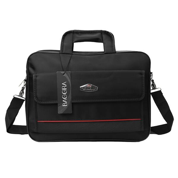New Oxford Laptop Bag Unisex Waterproof Dual Zippers Velcro Pocket Grab Handle Business Shoulder Bag