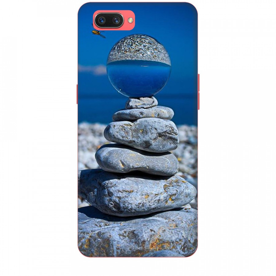 Ốp lưng dành cho điện thoại Oppo A3S/A5/realme C1 - Đá Ngủ Sắc