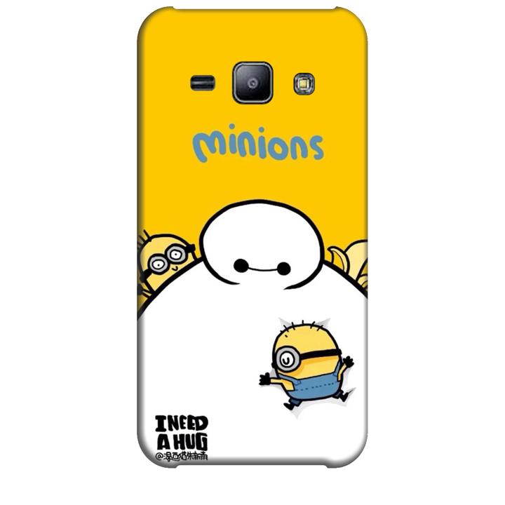 Ốp lưng dành cho điện thoại  SAMSUNG GALAXY J2 hinh Big Hero Minions