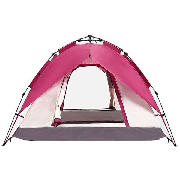 Lều Cắm Trại Tự Bung 2 Lớp, Vải Dù Chống Thấm Cao Cấp, Khung Thép Chắc Chắn, Lều 3 Người