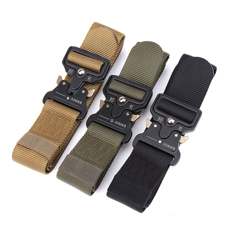 Training Belt Waist Straps Safety Enhanced Edition Nylon Webbing Emergency Survival Outdoor