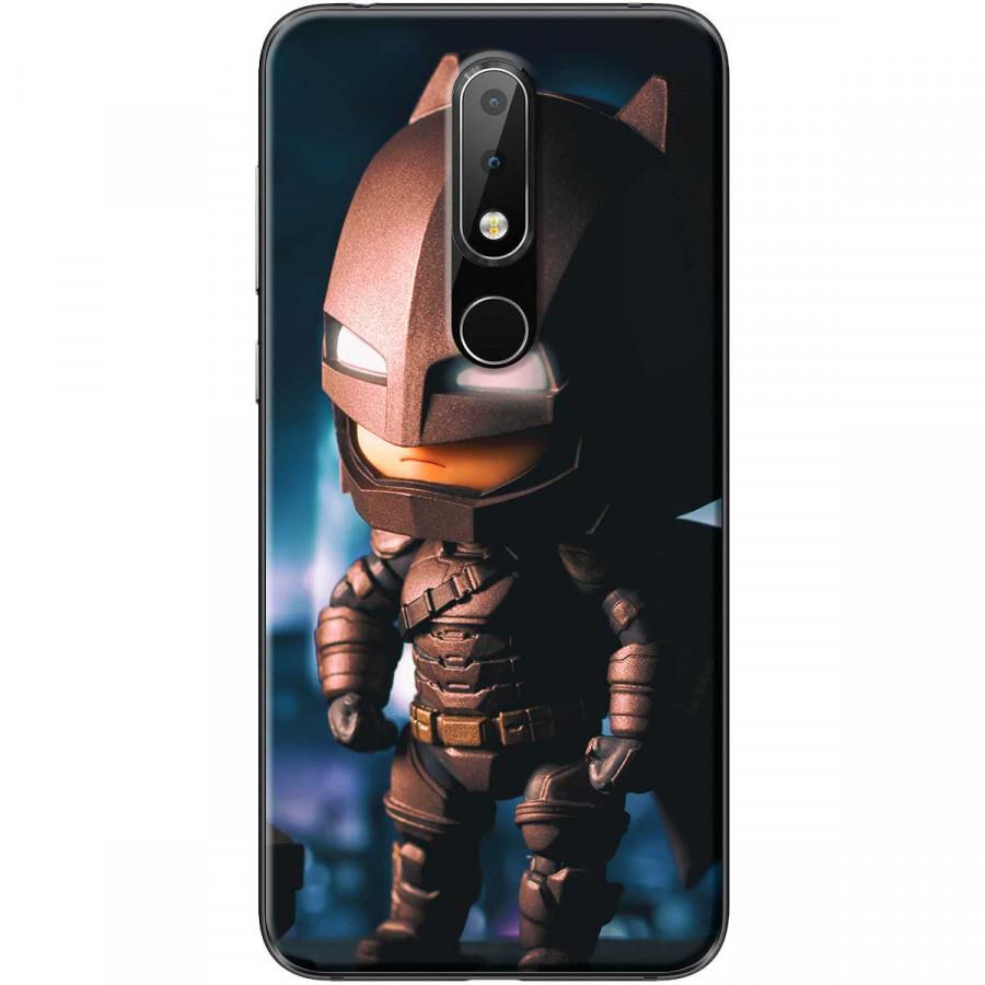 Ốp lưng dành cho điện thoại Nokia 6.1 Plus Mẫu Batman