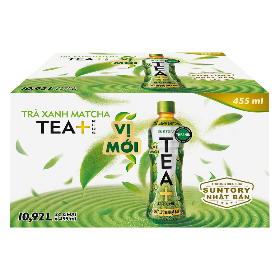 Thùng 24 Chai Trà Xanh Matcha Tea+ Plus (455ml / Chai) - 879226 , 58934588913056 , 62_1380081 , 202000 , Thung-24-Chai-Tra-Xanh-Matcha-Tea-Plus-455ml--Chai-62_1380081 , tiki.vn , Thùng 24 Chai Trà Xanh Matcha Tea+ Plus (455ml / Chai)