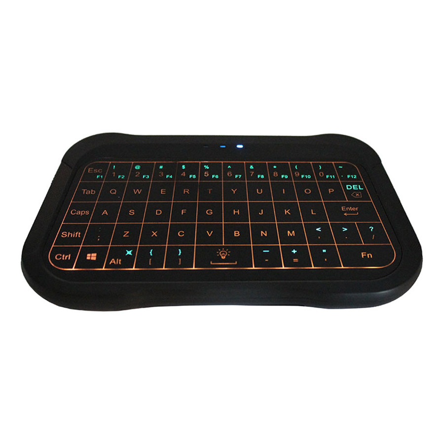 T18 2.4G Wireless Keyboard with Touchpad QWERTY Backlit Keyboard Wireless Smart Remote Controller Compatible with