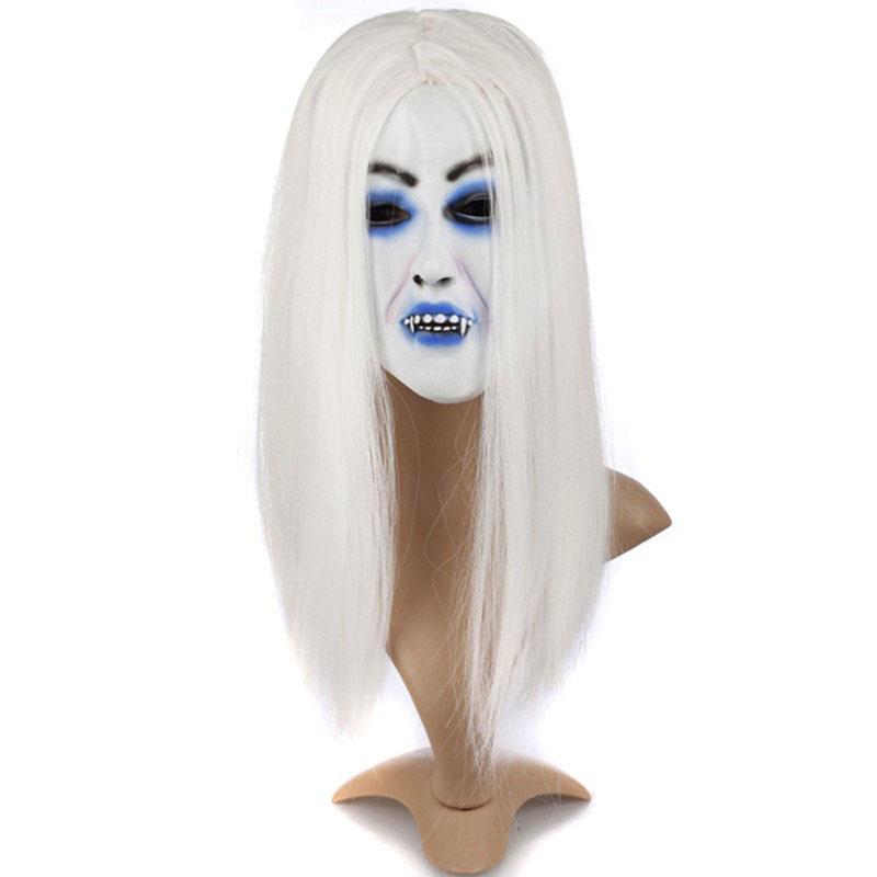 Mặt Nạ Halloween Hình Cô Dâu Zombie