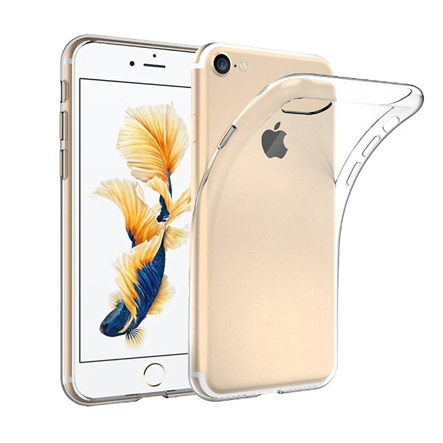 Ốp lưng silicon dẻo iPhone 7 (Trong suốt)