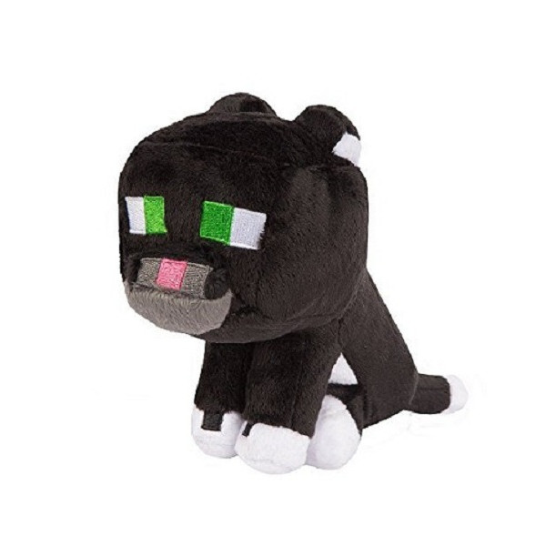 Nhồi bông mèo đen Minecraft