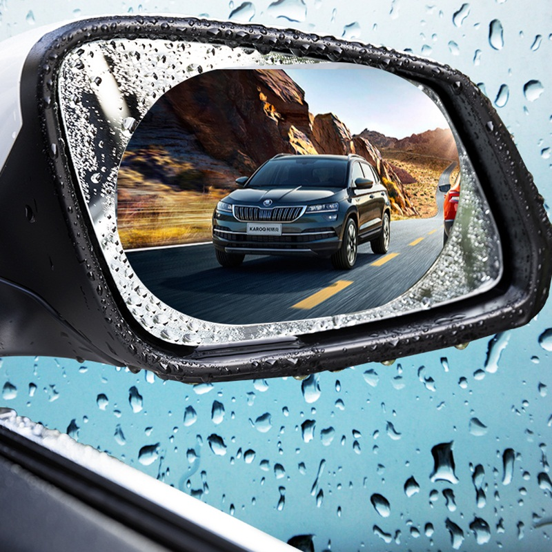 Miếng dán chống nước gương chiếu hậu xe hơi