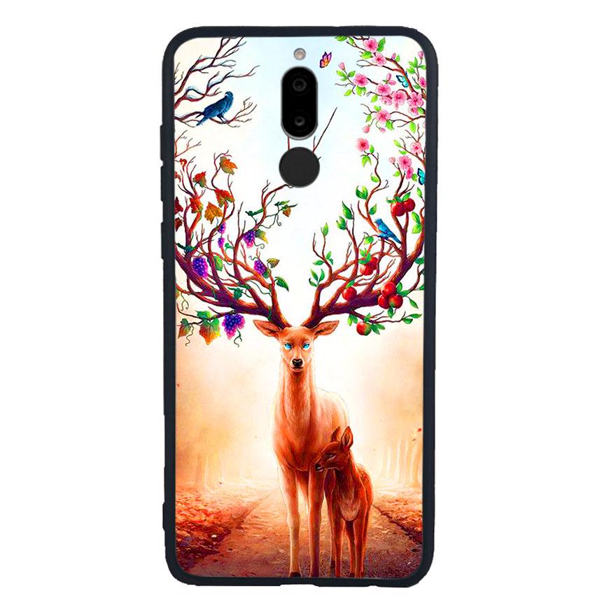 Ốp Lưng Viền TPU cho điện thoại Huawei Nova 2i -Deer 01