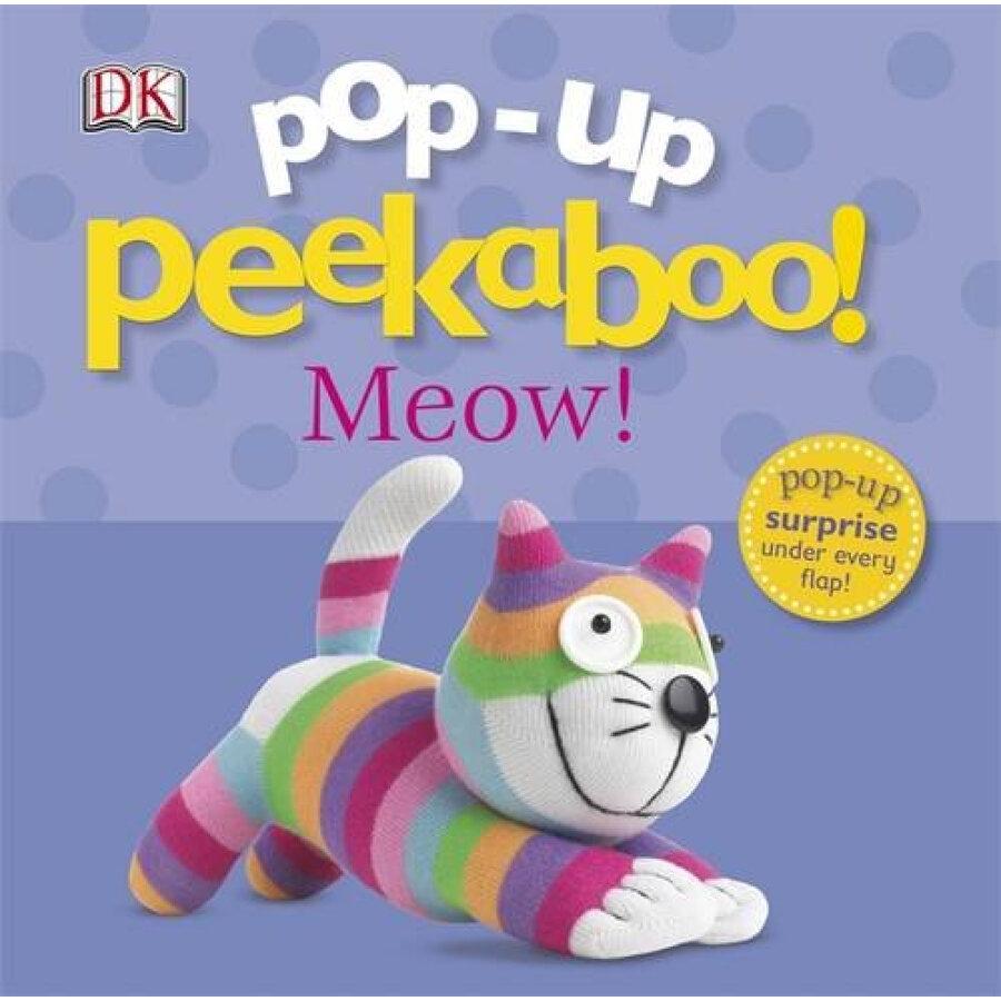 Pop-Up Peekaboo Meow! [Board book]