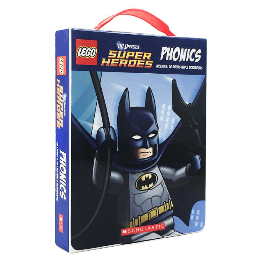 Lego Dc Super Heroes Phonics Boxed Set - 1240852 , 2466187037112 , 62_5281225 , 363000 , Lego-Dc-Super-Heroes-Phonics-Boxed-Set-62_5281225 , tiki.vn , Lego Dc Super Heroes Phonics Boxed Set