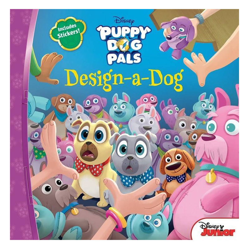 Puppy Dog Pals Design-A-Dog - 1240957 , 8898621814937 , 62_5281889 , 138000 , Puppy-Dog-Pals-Design-A-Dog-62_5281889 , tiki.vn , Puppy Dog Pals Design-A-Dog