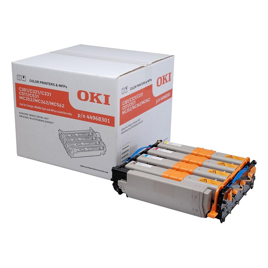 Mực In Laser Màu OKI C301 C/M/Y/K Cho Máy In OKI C301DN, C321DN (Gồm Chip) - Hàng Chính Hãng