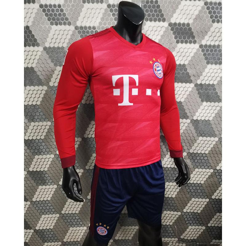 Bộ Áo Đá Banh Bayern Munich Sân Nhà Dài Tay - Đồ Bóng Đá Đẹp 2019 2020 - 9846329 , 8881965083633 , 62_17883543 , 165000 , Bo-Ao-Da-Banh-Bayern-Munich-San-Nha-Dai-Tay-Do-Bong-Da-Dep-2019-2020-62_17883543 , tiki.vn , Bộ Áo Đá Banh Bayern Munich Sân Nhà Dài Tay - Đồ Bóng Đá Đẹp 2019 2020