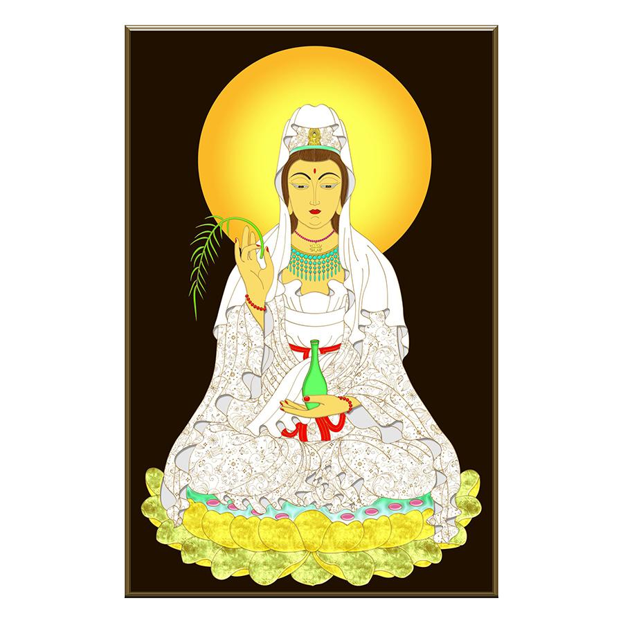 Tranh Phật Giáo Dán Tường - Mã 16