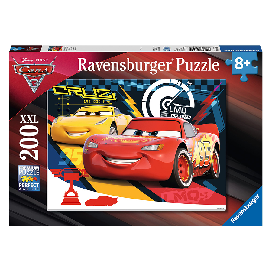 Xếp Hình Puzzle Quietschende Reifen 200 Mảnh Ravensburger RV12625 5