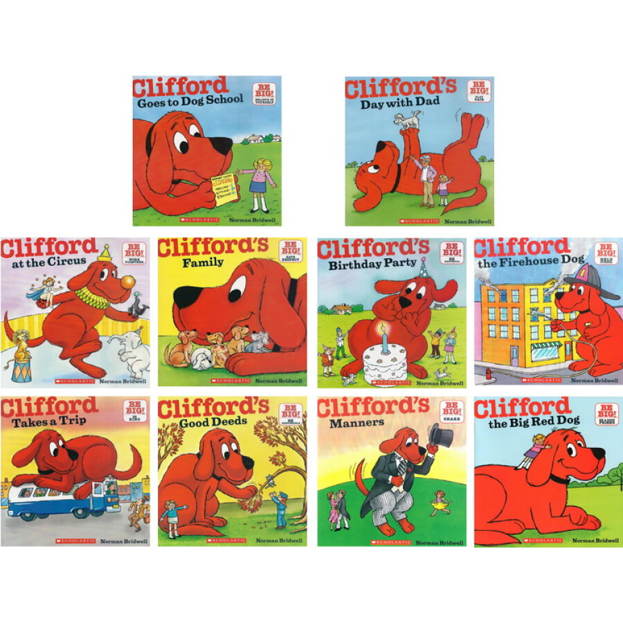 Cliffords Big Red Box 50th Anniversary Pack (10 Book Set)