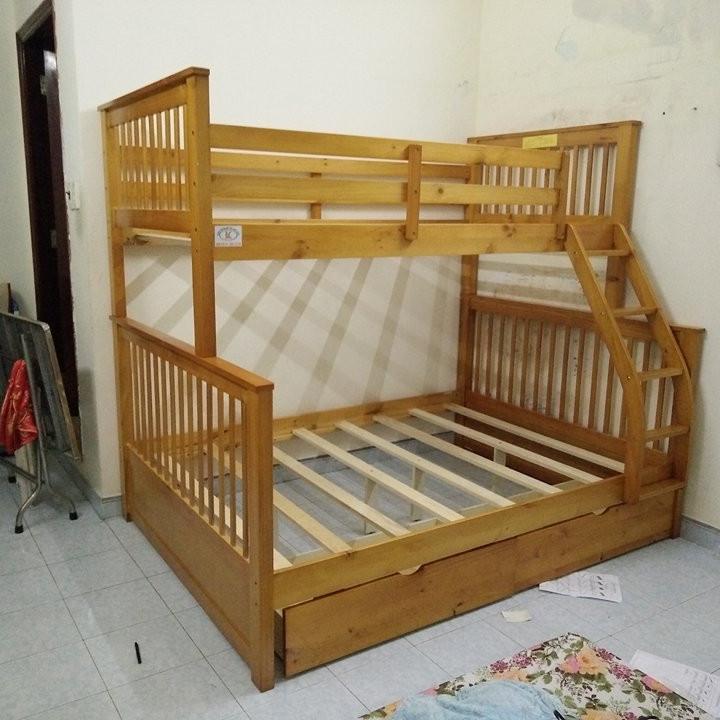 Giường Tầng GT028-OAK