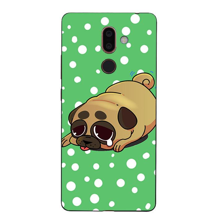 Ốp Lưng Dẻo Cho Điện Thoại Nokia 7 Plus - Dog cry 02
