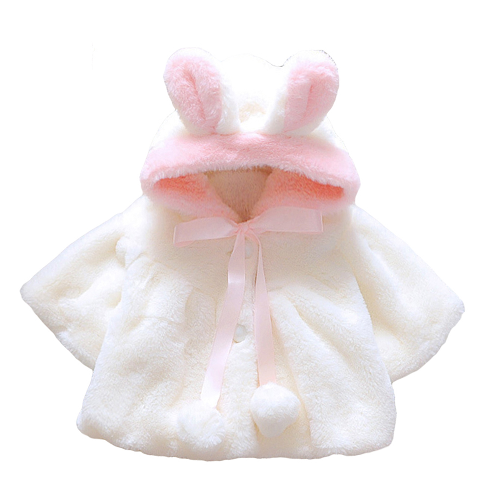 Baby Girls Infant Rabbit Ear Hoodie Warm Coat Pom Pom Bowknot Winter Clothes - 16636165 , 7648428998030 , 62_27272816 , 173000 , Baby-Girls-Infant-Rabbit-Ear-Hoodie-Warm-Coat-Pom-Pom-Bowknot-Winter-Clothes-62_27272816 , tiki.vn , Baby Girls Infant Rabbit Ear Hoodie Warm Coat Pom Pom Bowknot Winter Clothes