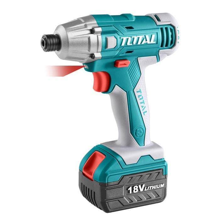 Máy siết vít dùng pin Li-on Total 18V TIDLI228181 (2 pin - 13 phụ kiện)