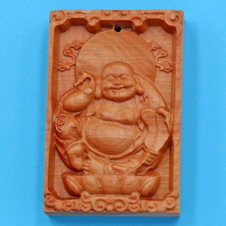 Mặt Gỗ Ngọc Am Tượng Phật Di Lặc MG22