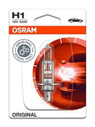 Bóng Đèn Osram H1 Standard 12V (55W) - Trắng