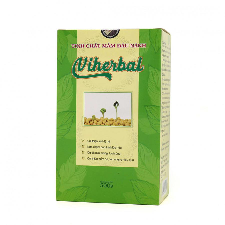 Thực phẩm chức năng Tinh chất phôi mầm đậu nành nguyên xơ Viherbal