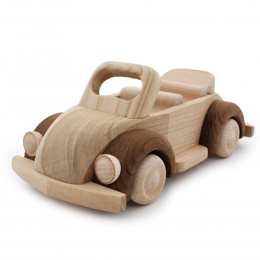Đồ chơi xe ô tô mui trần bằng gỗ - 1710710 , 2309519159963 , 62_11880466 , 270000 , Do-choi-xe-o-to-mui-tran-bang-go-62_11880466 , tiki.vn , Đồ chơi xe ô tô mui trần bằng gỗ