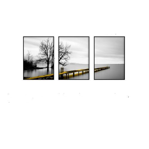 Bộ 3 Tranh Phía Cuối Cây Cầu