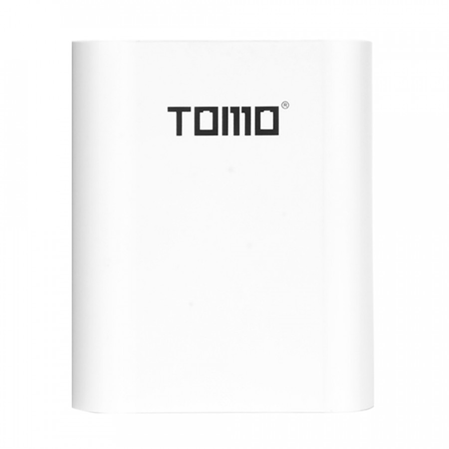 TOMO S4 18650 Li-ion Battery Charger 3 Input Case 5V 2A Output Power Bank External USB Charger with Intelligent LCD
